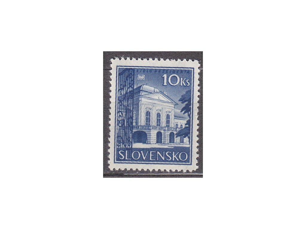 1940, 10Ks Prezidenský palác, Nr.46z, **, ilustrační foto