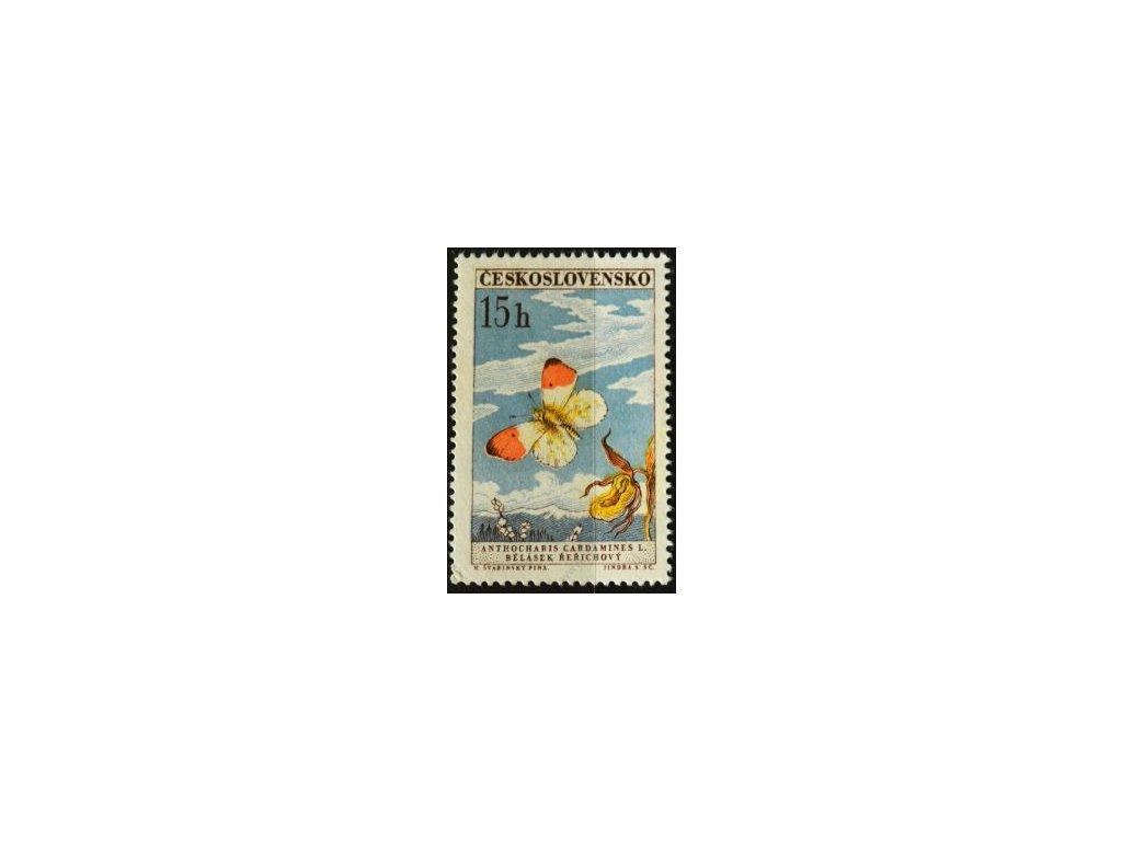 1961, 15h Motýli, II.typ, Nr.1217, **