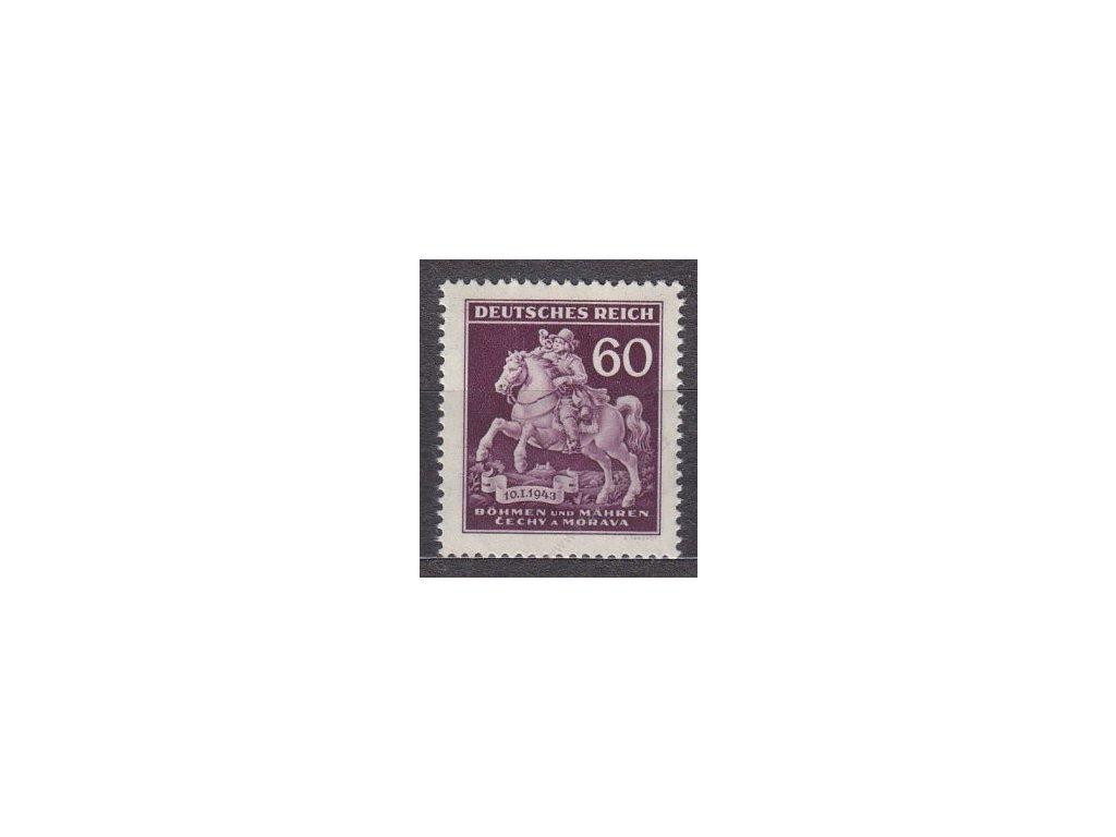 1943, 60h Postilión, Nr.102, **
