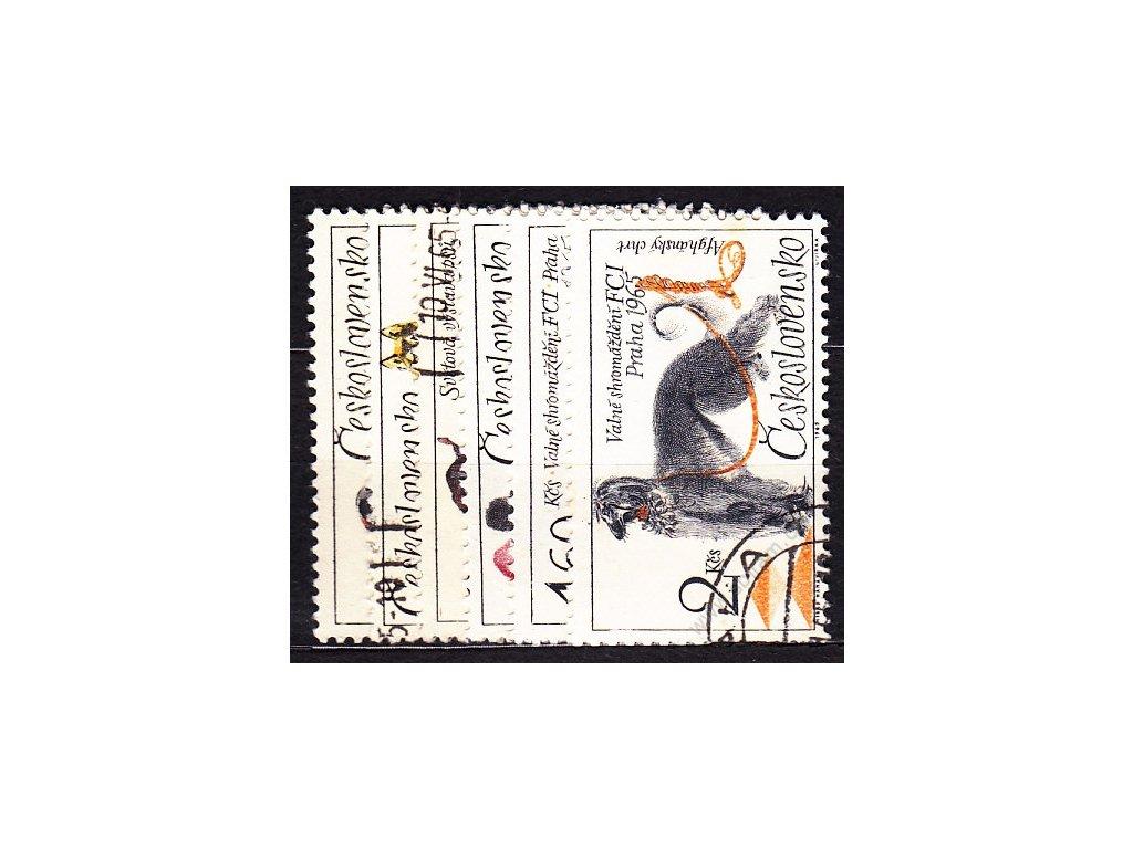 1965, 30h-2Kčs série Psi, Nr.1448-53, razítkované, ilustrační foto