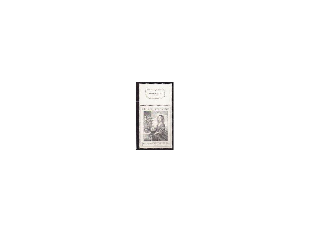 1966, 1Kčs Hollar, horní kupon, Nr.1574 **