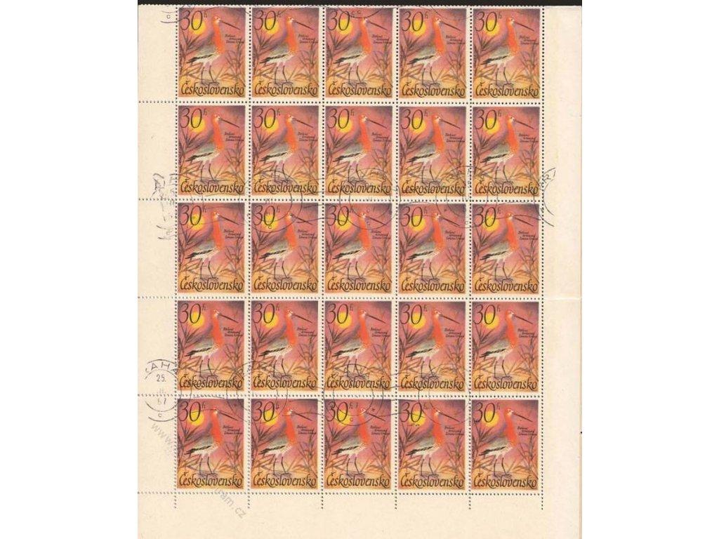 1967, 30h Vodní ptactvo, kompletní 50 ks arch, ST