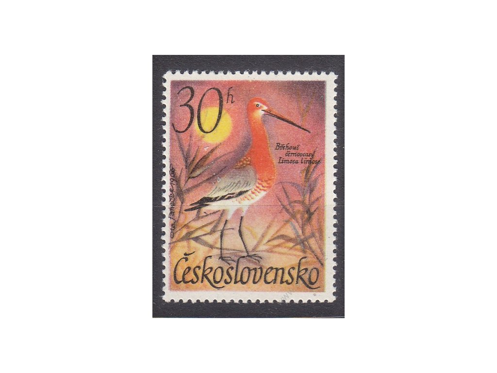 1967, 30h Vodní ptactvo, II.typ, Nr.1587, **