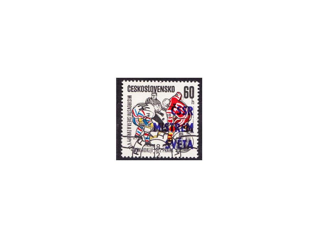 1972, 60h ČSSR mistrem světa, DV - E, razítkované