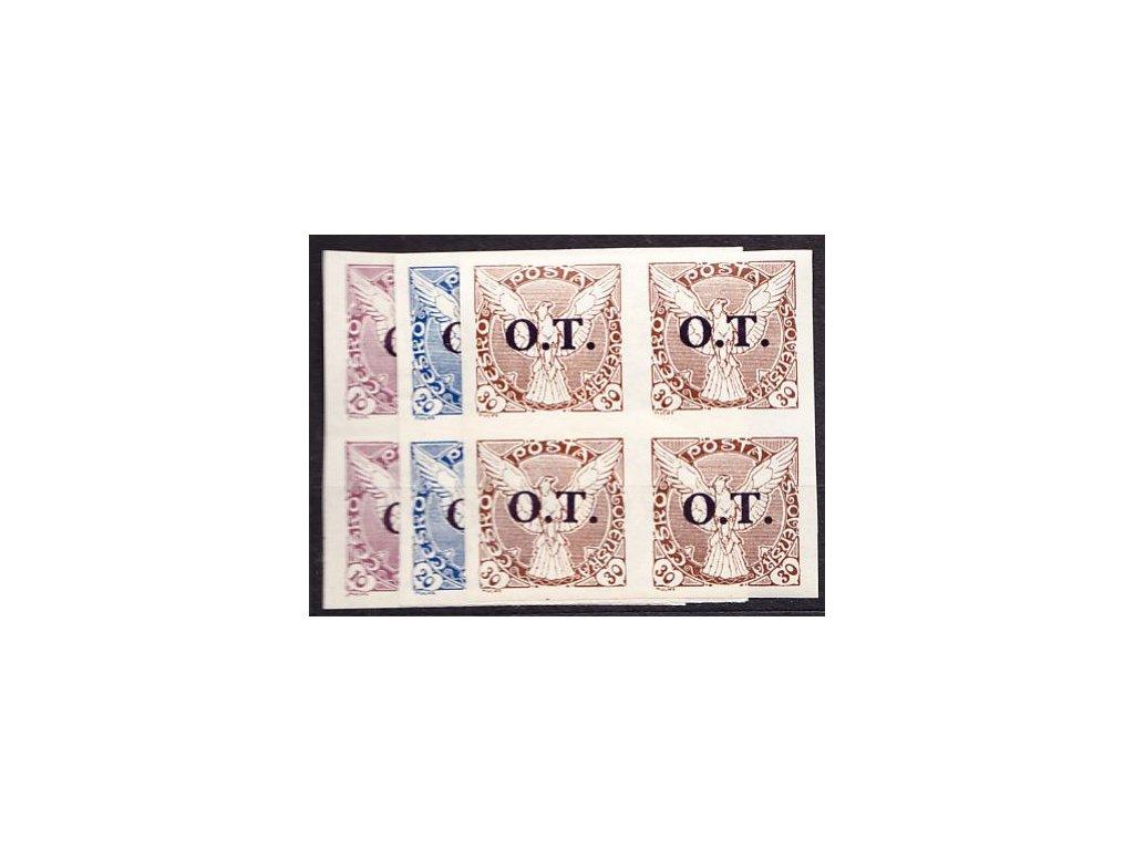 10-30h O.T, série ve 4bloku, Nr.OT1-3, **