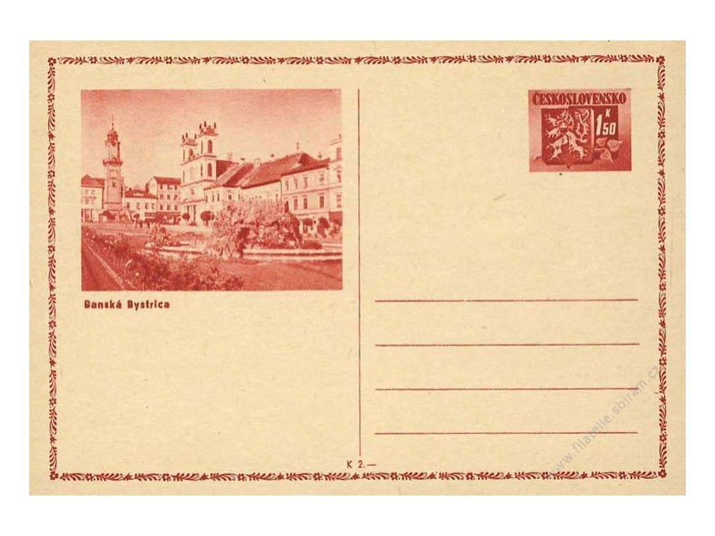 CDV 75A Bratislavské vydání