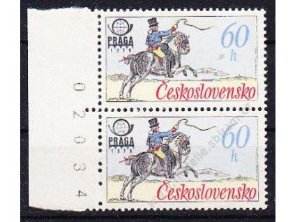 1977, 60h Postilión, kraj. 2páska s DV - &quot!uzda&quot!, Nr.2253, **