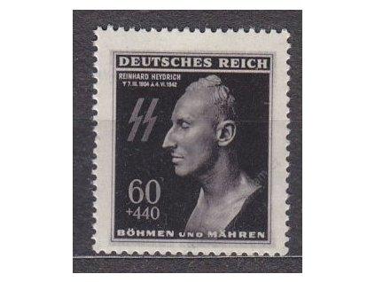 1943, 60h Heydrich, Nr.111, **