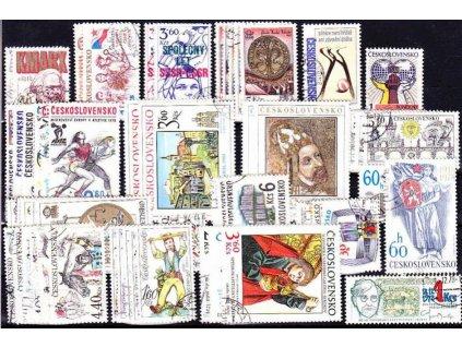 1978, kompletní ročník výplatních známek, razítkované, ilustrační foto