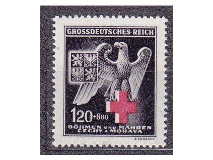 1943, 1.20K ČK IV, Nr.112, **