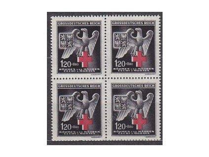 1943, 1.20K ČK IV, 4blok, Nr.112, **