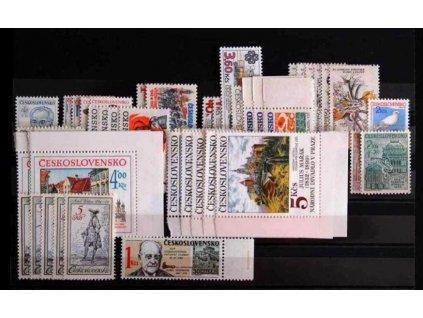 1983, kompletní ročník výplatních známek, ** , ilustrační foto
