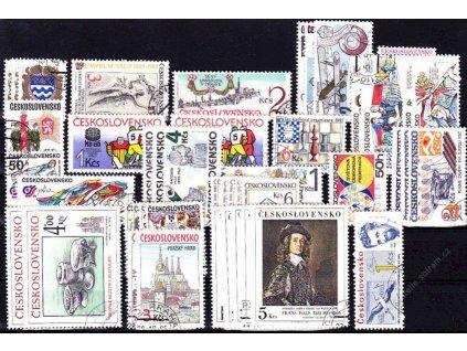 1985, kompletní ročník výplatních známek, razítkované, ilustrační foto