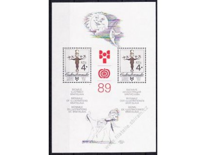 1989, aršík 4Kčs BIB, VZOR, Nr.A2908, **