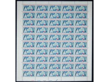 1991, 8Kčs Antarktida, 50 ks arch, Nr.2978, **