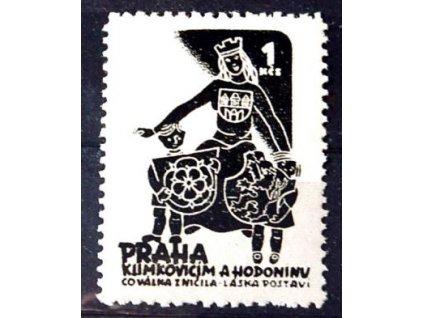 Praha Klimkovicím a Hodonínu, 1Kč, **
