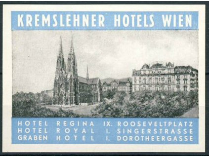 Kremslehner hotels Wien, **