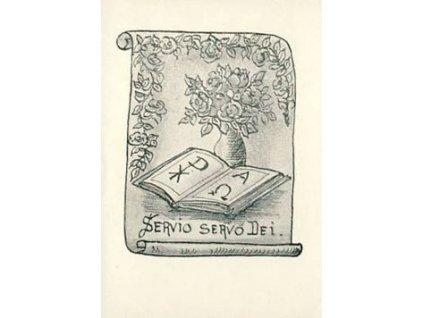 Servio Servo Dei, Ex libris, dv