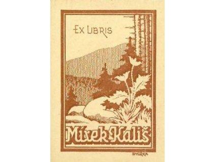 Dvířka, Ex libris, malý formát