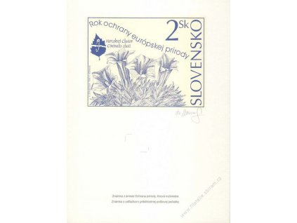Horniak, podpis na pamětním listu, A4