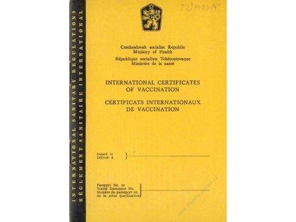 International certificates of vaccination, 1968
