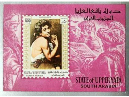 Aden, State of Upper Yafá, aršík Caravaggio, **