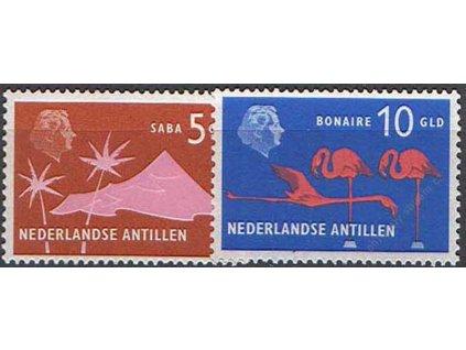 Antillen, 1958/73, 5 a 10G MiNr.85,262, **