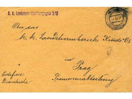 Kriegsgefangenen Wegscheid, obálka