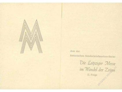 Společné vydání, 1947, Lipský veletrh II., MiNr.965-6, pamětní 2list