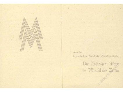 Společné vydání, 1947, Lipský veletrh, MiNr.941-2, FDC, pamětní 2list