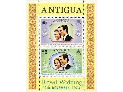 Antigua, 1973, aršík, MiNr.Bl.10, **