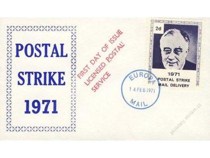 Poštovní stávka v roce 1971, dopis, neprošlé