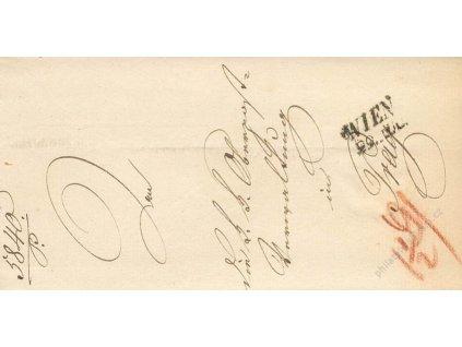 Wien, skládaný dopis z roku 184?