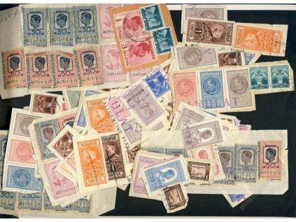 Rumunsko, více než 130 kolků z 30-40. let