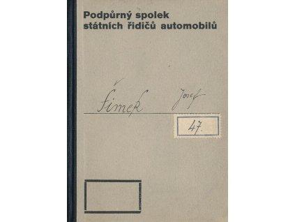 Podpůrný spolek státních řidičů automobilů, 1913, zachovalé