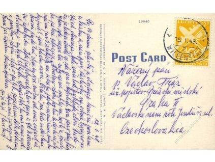 Curacao, 1948, DR Willemstad, pohlednice