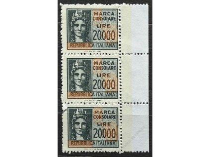 Itálie, 198?, 2000L kolek, svislá kraj. 3páska, (*)
