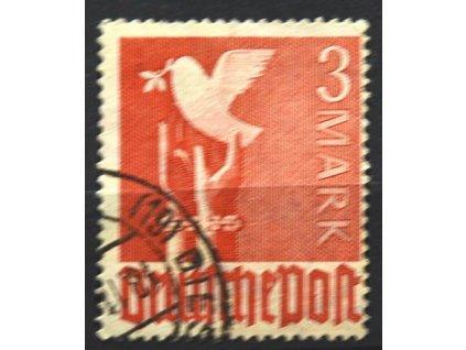 Společné vydání, 1947, 3M Holubice, razítkované
