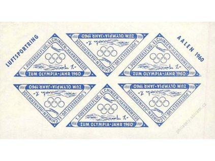 Luftsportring, 1960, Olympijské nálepky, **