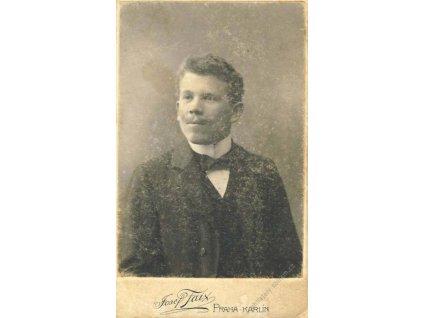 Sokol, průkazka, podobenka, cca 1900, stopy stáří