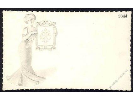 Velká vizitková karta, pohlednicový formát