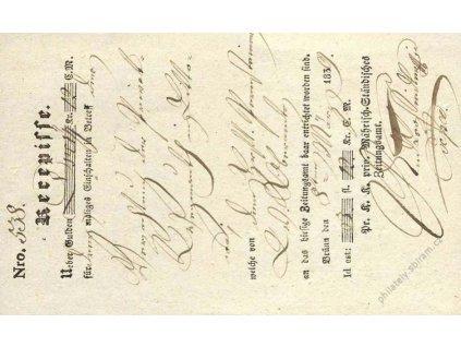 Brno, recepis z roku 1839, přeloženo
