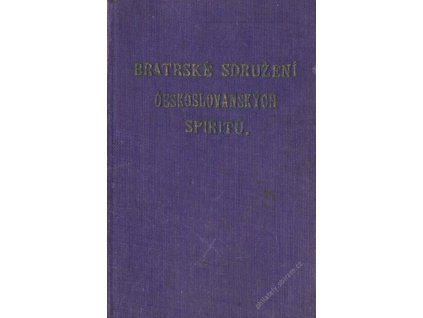 Bratrské sdružení českoslovanských spiritů, průkaz