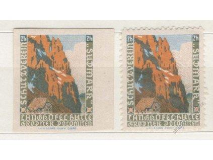 Sudmark, Schutzverein, 2h, 1905, nálepka + ZT, *