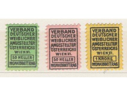 Verbanddeutscherr weiblicher, Wien, 50h, 50h a 1Kr