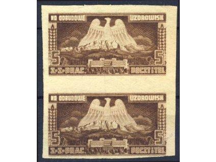 Polsko, 1948, 5Zl Na odbudowe Uzorowisk, (*)