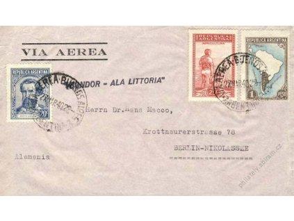 Argentina, 1940, DR Buenos Aires, letz. dopis