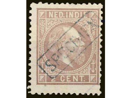 Indie, 1870, 2C Vilém, SPECIMEN, MiNr.5, (*)