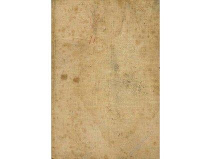 Pas domobranný z roku 1896, špatný stav