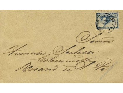 Argentina, 1892, DR Exposioion Posario, dopis